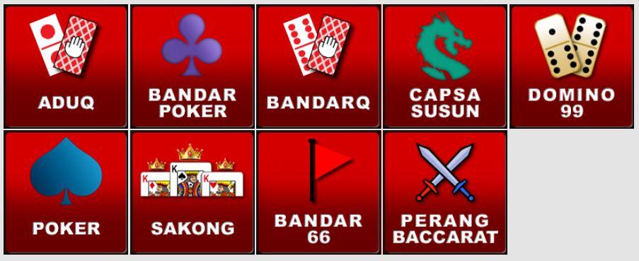 jenis permainan pokerv pkv games